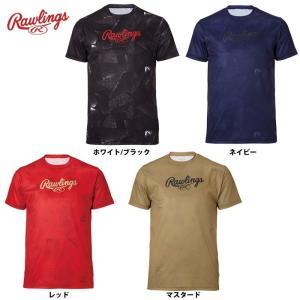ローリングス Tシャツ ブロックTシャツ AST9F01 raw19fw baseman