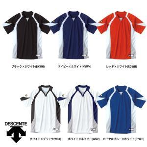 デサント 野球用 ベースボールシャツ レギュラーシルエット DB-113 des17ss|baseman