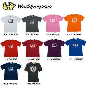 ワールドペガサス Worldpegasus ロゴTシャツ ポリエステル100% WAPTS91|baseman