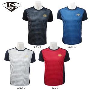 あすつく ルイスビルスラッガー Tシャツ 半袖 吸汗速乾 WTL19HSBL ls19ss|baseman
