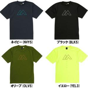 マジェスティック 半袖 Tシャツ Casual Branding Tee Shirts XM01-MAJ-0031 maj18ss|baseman