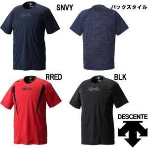 受注会限定 DESCENTE デサント XGN ベースボールシャツ BBシャツ DBX-5701A des17ss baseman