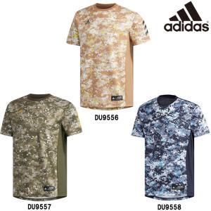 adidas アディダス 野球 Tシャツ デジカモ カモフラ 半袖 5T 2nd ユニフォーム Camo C FTJ00 adi19ss|baseman