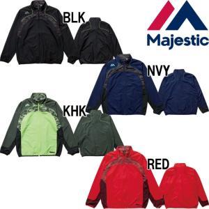 あすつく マジェスティック Majestic ウィンドジャケット 裏メッシュ XM23-MAJ-0016 maj17ss 1617sale|baseman