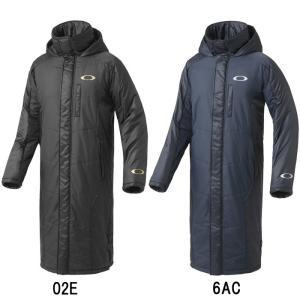 あすつく オークリー ロングコート ベンチコート ENHANCE WIND WARM LONG COAT 7.3 412475JP oak17fw 18coat|baseman