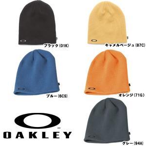 あすつく オークリー OAKLEY ニット帽 ビーニー FINE KNIT BEANIE 91099A oak17fwsale 1617sale|baseman