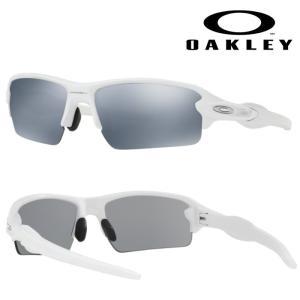 あすつく OAKLEY オークリー サングラス FLAK 2.0 (ASIA FIT) SLATE IRIDIUM POLISHED WHITE OO9271-16 oak18fw oar|baseman