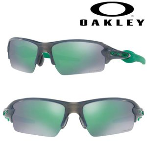 あすつく OAKLEY オークリー サングラス FLAK 2.0 (ASIA FIT) PRIZM JADE GREY SMOKY OO9271-2361 oak18fw|baseman