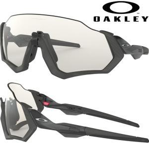 あすつく OAKLEY オークリー サングラス 調光レンズ フライトジャケット FLIGHT JACKET OO9401-0737 oak18ss|baseman