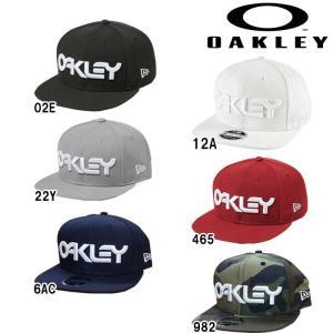 あすつく OAKLEY オークリー NewEra キャップ 帽子 BIBロゴ MARK II NOVELTY SNAP BACK 911784 oak19ss|baseman