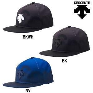 あすつく DESCENTE デサント MoveSport キャップ 帽子 フラットバイザーキャップ ムーブスポーツ DMANJC05 des19ss|baseman