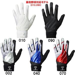 あすつく 美津和タイガー 両手組 バッティング手袋 レボルタイガーデルタ 一部学生対応 AGRLYS-002 mit18ss|baseman
