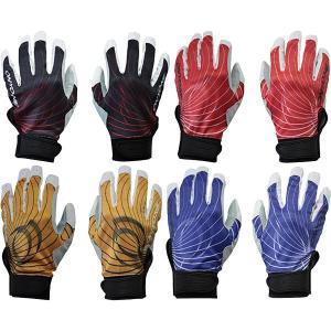 あすつく 特価 半額 50%OFF オンヨネ 両手組 バッティング手袋 プロモデル OKA96911 on17sale|baseman