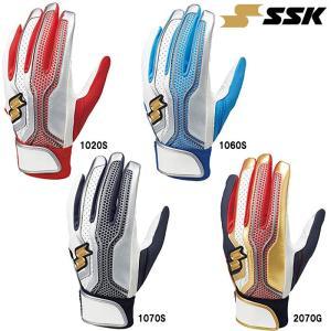 SSK エスエスケイ 野球 バッティング手袋 両手組 洗濯可 プロエッジ proedge EBG5002W ssk19ss baseman