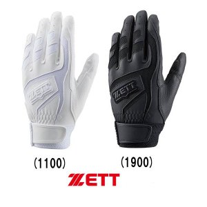 ZETT 野球用 両手組 バッティング手袋 学生対応 BG557HS|baseman
