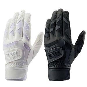 ZETT ネオステイタス 両手組 バッティング手袋 ダブルベルト 学生対応 BG994HS|baseman