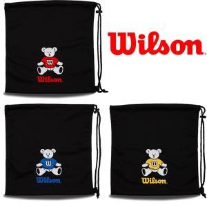 あすつく 数量限定 ウイルソン 野球用 グラブ袋 ベア ソフトボール グローブ Wilson Bear WTA8022 wil19fw|baseman