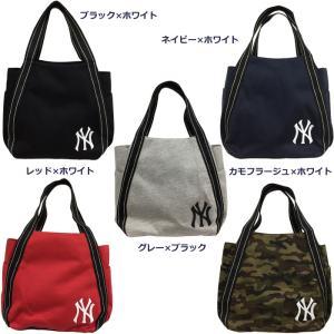 64e94f3f96f8 あすつく イーカム MLB トートバッグ ニューヨークヤンキース 刺繍入り YK-101