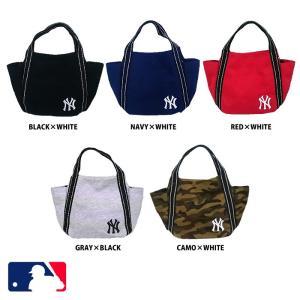 86ae9b9d2640 あすつく イーカム MLB ミニトートバッグ ニューヨークヤンキース 刺繍入り YK-NMTB101