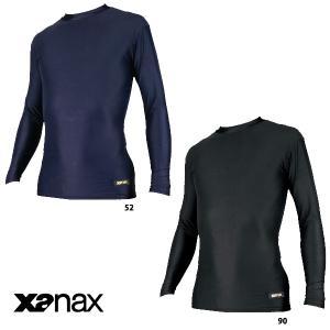 あすつく 特価 ザナックス ジュニア 少年用 長袖 丸首 アンダーシャツ BUS-302J xan16fwsale baseman