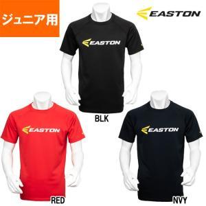イーストン EASTON ジュニア ブリスターニット テキストTシャツ ロゴ KSEAJKS-001 est19ss|baseman