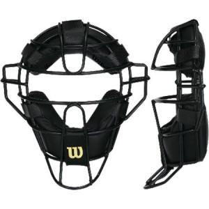 ウィルソン NPB仕様 硬式 野球用 審判用 マスク スチールフレーム ローケージ|baseman
