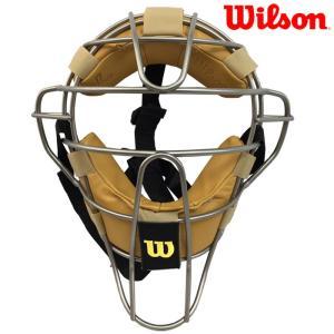 あすつく Wilson ウイルソン 野球 硬式用 審判 マスク チタンフレーム NPB仕様 アンパイア WTA3009TSNPB wil18ss|baseman