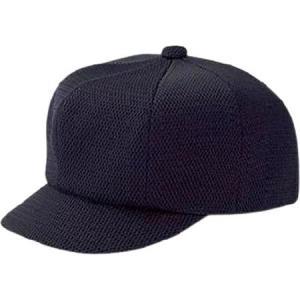 ZETT 審判用帽子 主審用 八方型 オールメッシュ BH202|baseman