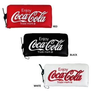 あすつく イーカム 長財布 コカ・コーラ Coca-Cola ウォレットチェーン付き COK-WLT02|baseman