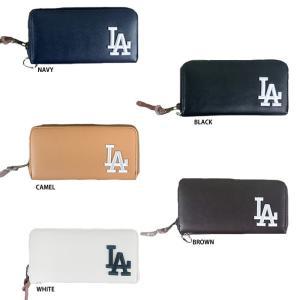 あすつく イーカム MLB 長財布 ロサンゼルスドジャース LA-1406P-01|baseman