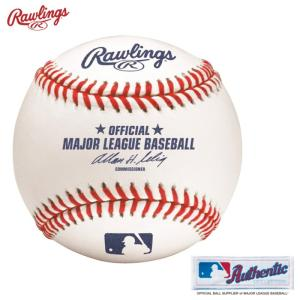 ローリングス MLB公式試合球 硬式球 オーセンティック 1球 ROMLB6