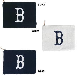 あすつく イーカム MLB クラッチバック(大) ボストンレッドソックス RS-CLH01|baseman