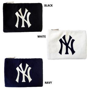 あすつく イーカム MLB クラッチバック(大) ニューヨークヤンキース YK-CLH01|baseman