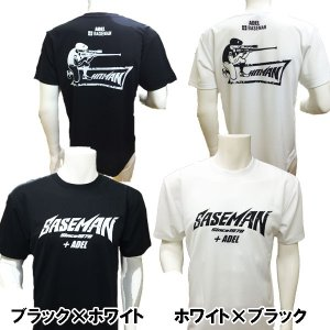 あすつく Bmオリジナル Tシャツ ベースマン×アーデル コラボ +BASEMAN ADEL ヒットマン HIT MAN|baseman