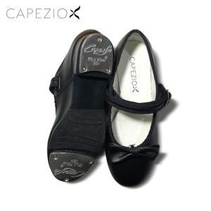 Capezio(カペジオ)タップシューズ3800 MARYJANE BLACK/黒レザー(子供用〜21.5cm)|basement-tapdance