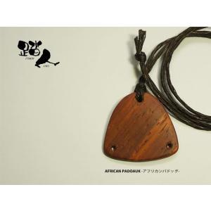 タップス型木製ペンダント(アフリカンパドック・パープルハート)|basement-tapdance
