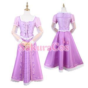【女性S/M/L即納品】ディズニー映画 塔の上のラプンツェル Rapunzel コスプレ衣装 101001003|basestyle