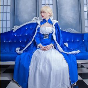 Fate/Grand Order FGO セイバー アルトリア ドレス コスプレ衣装 ハロウィン 変装 仮装 コスチューム cosplay イベント クリスマス|basestyle