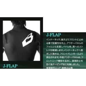 BEWET フルオーダー用追加J-FLAP    2520円|basic-surf