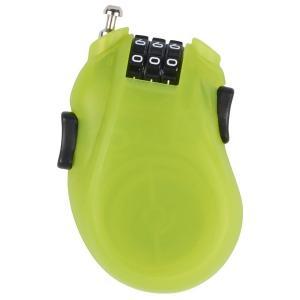 BURTON CABLE LOCK Lime  バートン ケーブルロック カギ 鍵  スノーボード盗難防止 クリックポストで送料無料|basic-surf