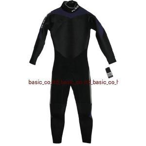 FCS フルスーツ 3x2mm FL BLACK/PURPLE サーフィン ウエットスーツ basic-surf