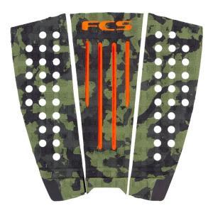FCS Julian Wilson Traction Camo Orange サーフィン デッキパッド  デッキパット テールパッド テールパッチ