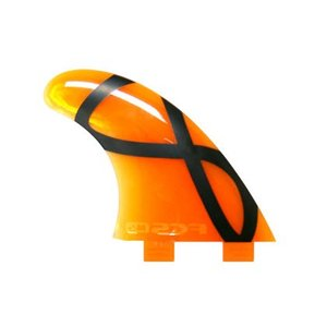 FCS FIN SOFT TRI FIN  M5 IFT SOFTFLEX ORANGE  FCS エフシーエス ソフト フィン|basic-surf