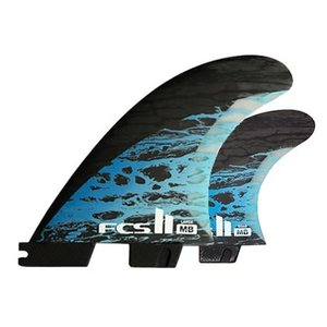 【FCS2 フィン】FCS2 MB PC CARBON TRI-QUAD 5FIN L