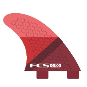 FCS FIN GX-Q RED SLICE REAR FINSET  FCS クアッド用リア フィン |basic-surf