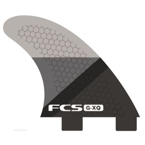FCS FIN GX-Q SMOKE SLICE REAR FINSET  FCS クアッド用リア フィン |basic-surf
