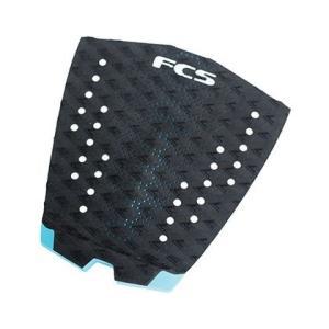 FCS GRIP T-1 BLACK/TEAL サーフィン デッキパッド  デッキパット テールパッド テールパッチ