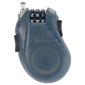 BURTON CABLE LOCK Translucent Black  バートン ケーブルロック カギ 鍵  スノーボード盗難防止 クリックポストで送料無料|basic-surf