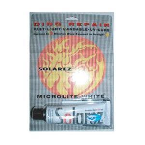 ソーラーレッズ・マイクロライト SOLARREZ  MICRORITE-WHITE サーフボード修理剤 ソーラーレジン|basic-surf