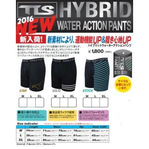 TOOLS HYBRID WATER ACTION PANTS  TOOLS ハイブリッド ウォーターアクションパンツ  インナー サポーター basic-surf 02